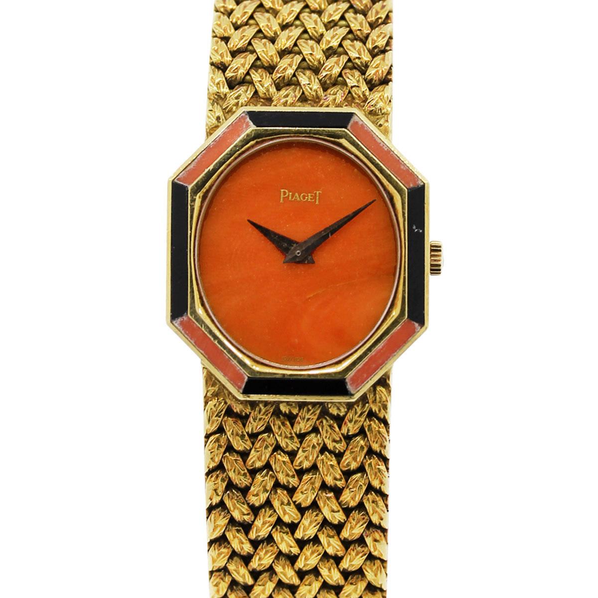 Piaget P341D2 Onyx Vintage Ladies Watch