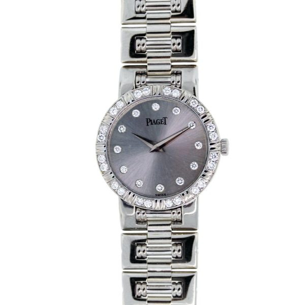 Piaget 80564 81 Dancer 18k White Gold Diamond Ladies