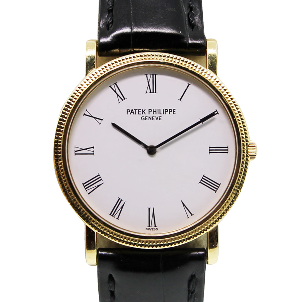 Patek Philippe 3520DJ001 Calatrava White Roman Dial Watch