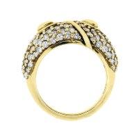 Hammerman Brothers 18k Yellow Gold Diamond Ring