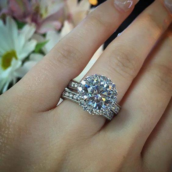 Tacori Engagement Rings 2 Carat Halo Engagement Ring