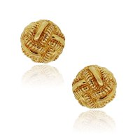Tiffany & Co. Schlumberger 18k Yellow Gold Knot Earrings