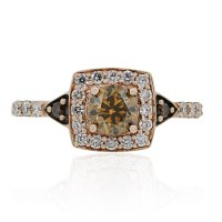 Le Vian Rose Gold Warm Champagne Diamond Engagement Ring