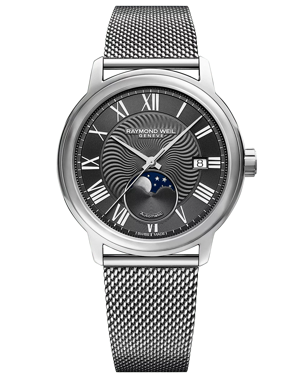 Maestro Men's Moon Phase Automatic Watch