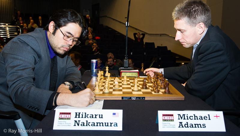 Round 4: Hikaru Nakamura vs Michael Adams