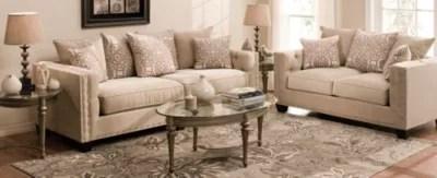Cindy Crawford Home Calista Contemporary Living Room
