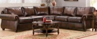 Bernhardt Sectional Leather Sofa Sectionals Bernhardt ...