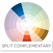 Color Story Decorating With Blue Split Complementary Raymour And Flanigan Furniture Design