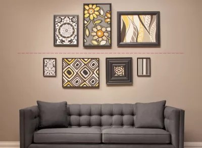 How To DIY Hang And Arrange Wall Art The Art Of