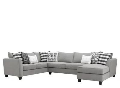 daine 3 pc sectional sofa