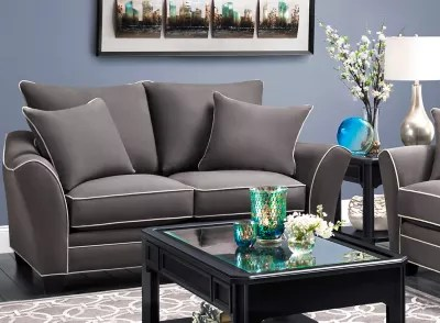 raymour flanigan living room furniture matching loveseats