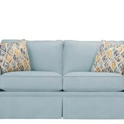 Sleeper Sofas Buffalo Ny Floating Sofa In Living Room Lundie Full - Sky | Raymour & Flanigan