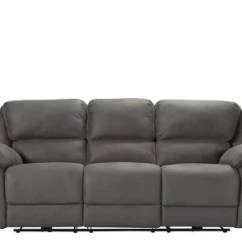 Gray Microfiber Power Reclining Sofa Sofas Portland Or Skye -   Raymour ...