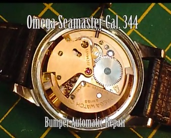 Repairing an Omega Seamaster Bumper Automatic Cal.344