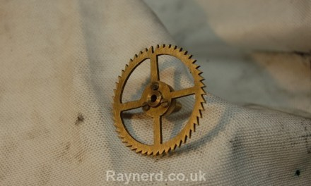 Gearless Clock – Count Wheel part2