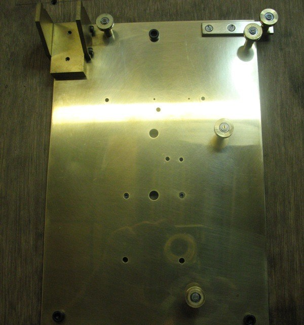 Woodwards Gearless Clock – Double pulley modification