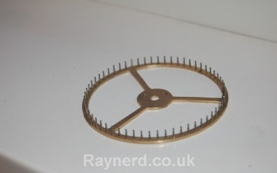 Gearless Clock – Pin Wheel