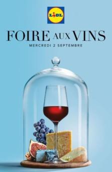 Foire Aux Vins Lidl 2020 : foire, Foire, Dévoile, Catalogue, Aussi, Esthétique, Percutant, Distribution, Rayon, Boissons