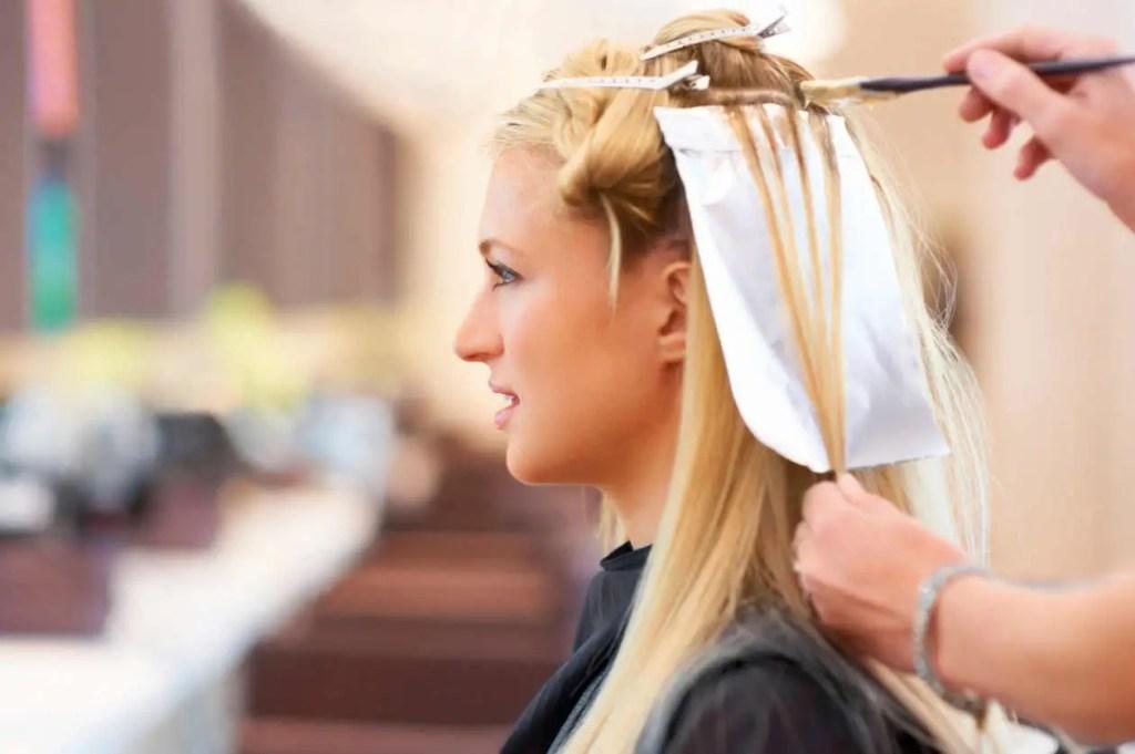 transparencias en el cabello