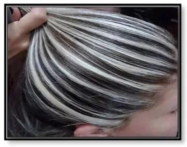 Como hacer mechas platinadas en cabello oscuro segun tus facciones - Como hacer mechas en casa sin gorro ...