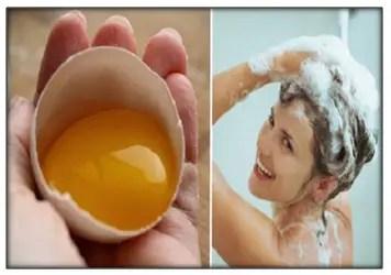 Mascarilla Para El Cabello Con Huevo