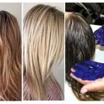 Como Usar Champu Azul Para Pelo Naranja – Antes Y Después