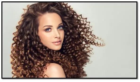 Glicerina para el cabello rizado