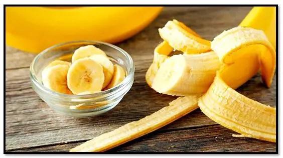 Mascarilla de banano para el cabello