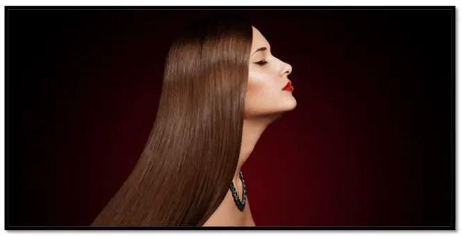 colágeno para alisar el cabello