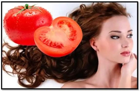 tomate para el cabello rizado