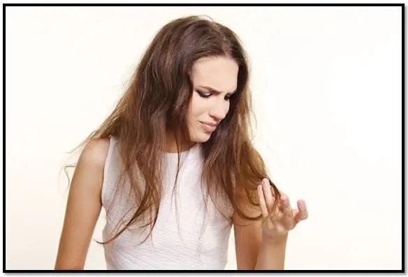 tratamiento para el cabello seco y sin brillo