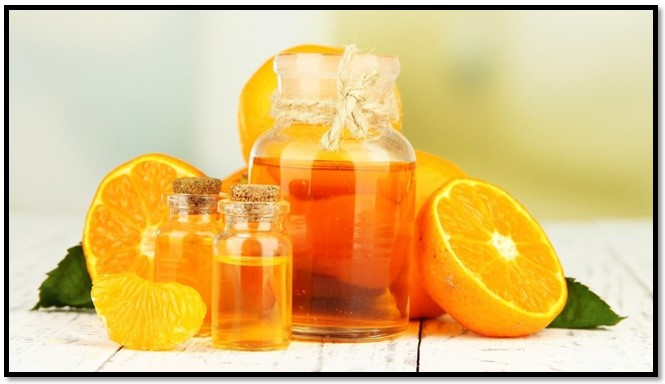 aceite de naranja para el cabello