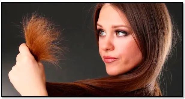 como reparar las puntas abiertas del cabello