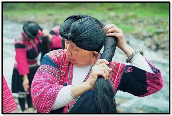 uso del agua de arroz para el cabello