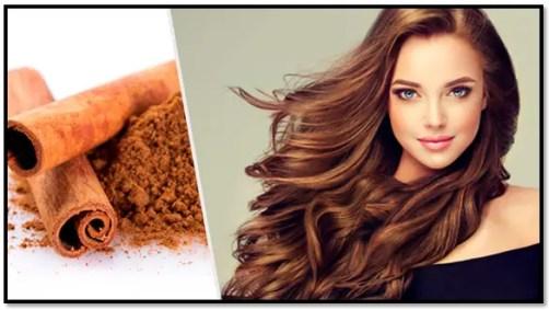 beneficios de la canela para el cabello