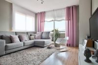 Living Room Drapery Curtain Ideas With Pretty Curtains