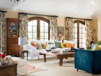 Beautiful Drapes for Living Room Curtain Ideas