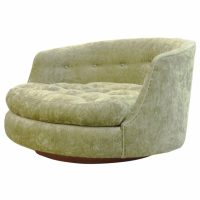 Round Leather Swivel Chair - Frasesdeconquista.com