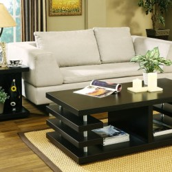 black wooden coffee end tables for black end tables living room furniture