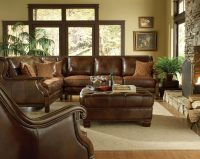 Brown Formal Leather Living Room Sets | Raysa House