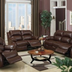 Leather Living Room Chair With Ottoman Infinity Massage Reviews Chairs Sets