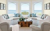 Beach Themed Coffee Table Decor for Living Room