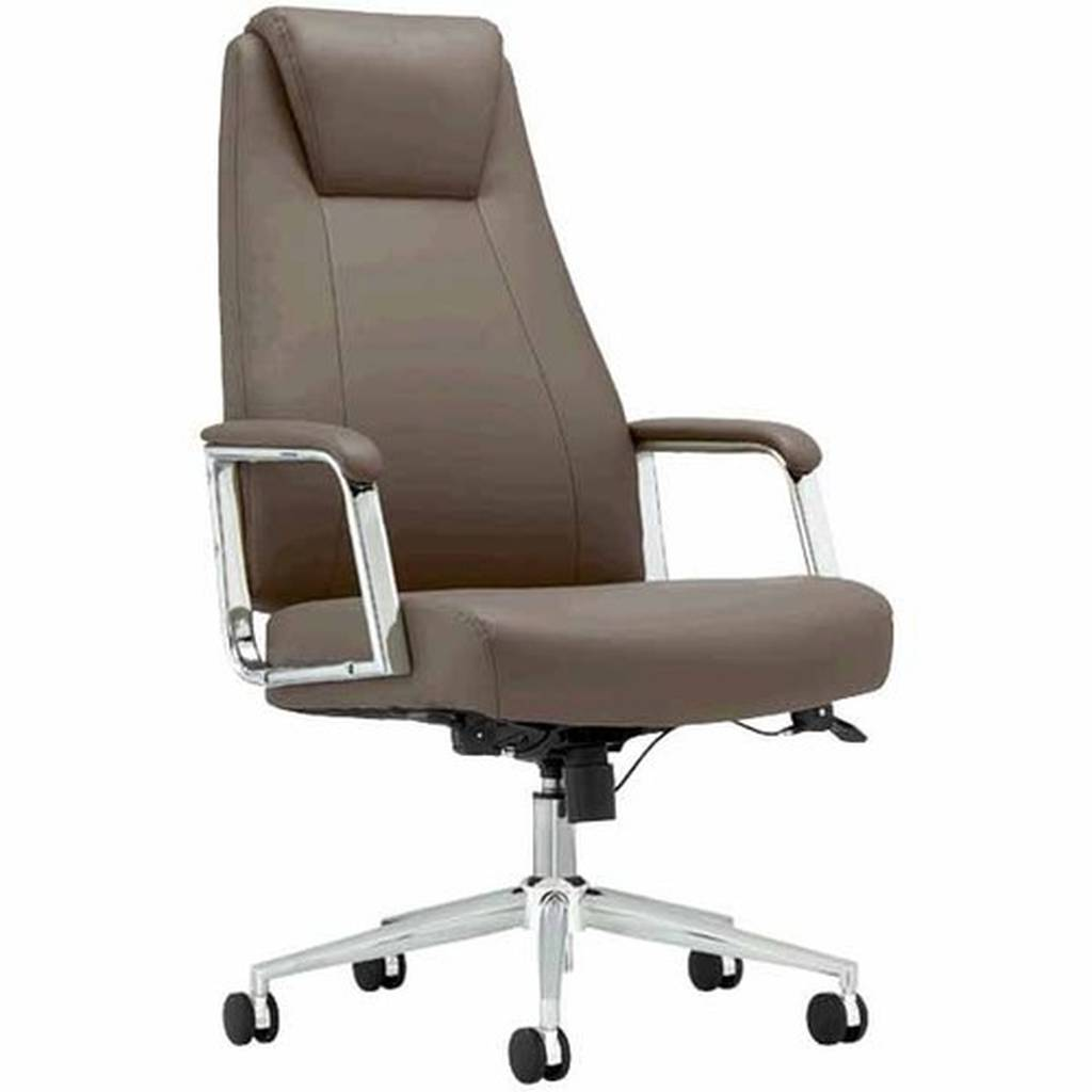 Realspace Chairs Realspace Fosner High Back Bonded Leather Chair