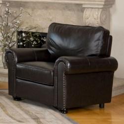 la-z-boy top grain leather office chair