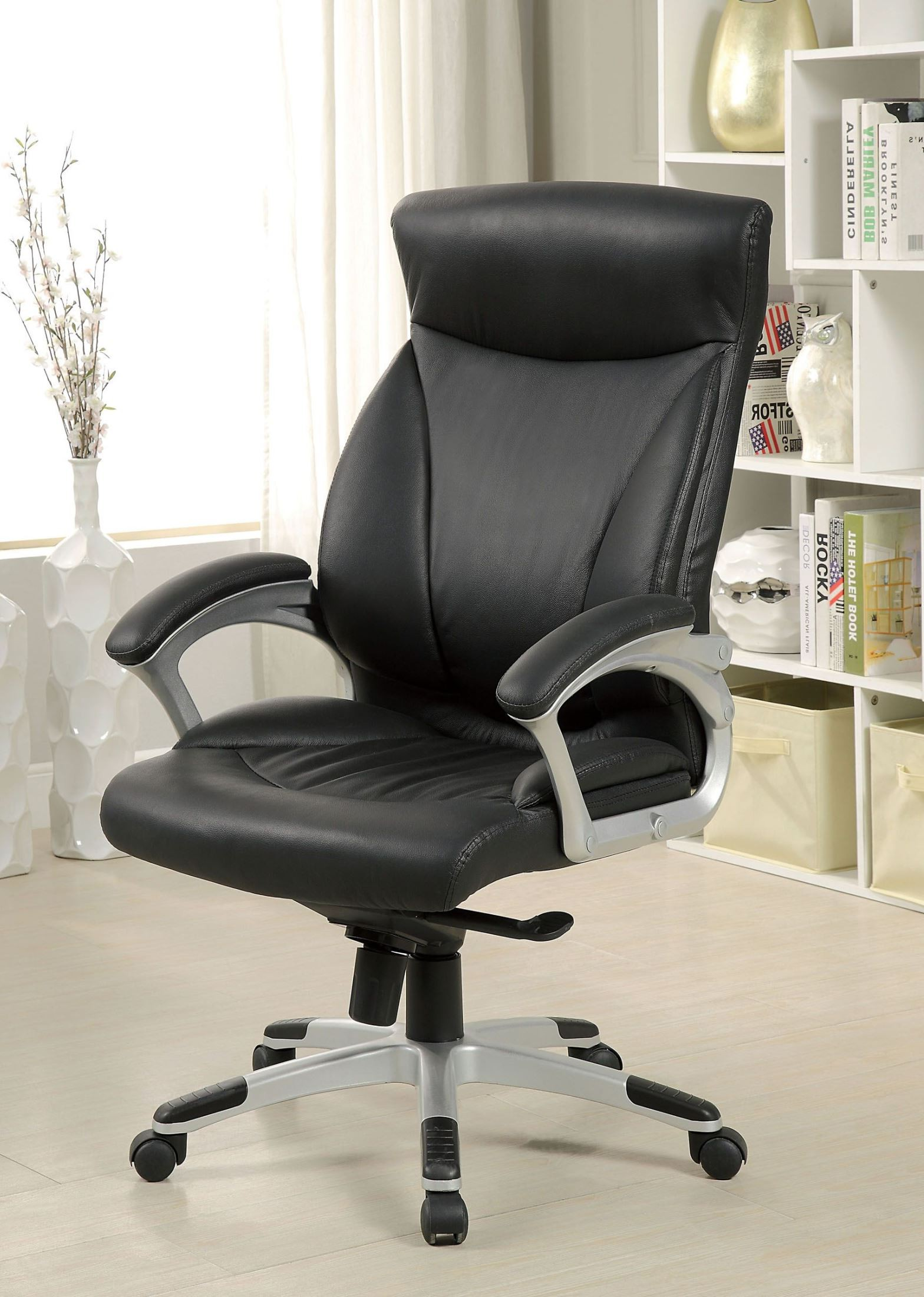 Top Grain Leather Office Chair Top Grain Leather Office Chair Furniture