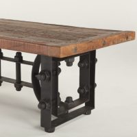 Unfinished Wood Coffee Table Legs Wrought Iron | Raysa House