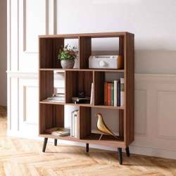 5 Inspiring Mid Century Modern Bookshelf to Bring Out Aesthetic Look  Raysa House