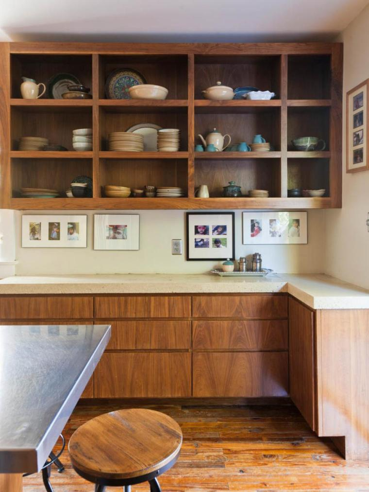 tips-for-open-shelving-in-the-kitchen-kitchen decorating ideas on a budget