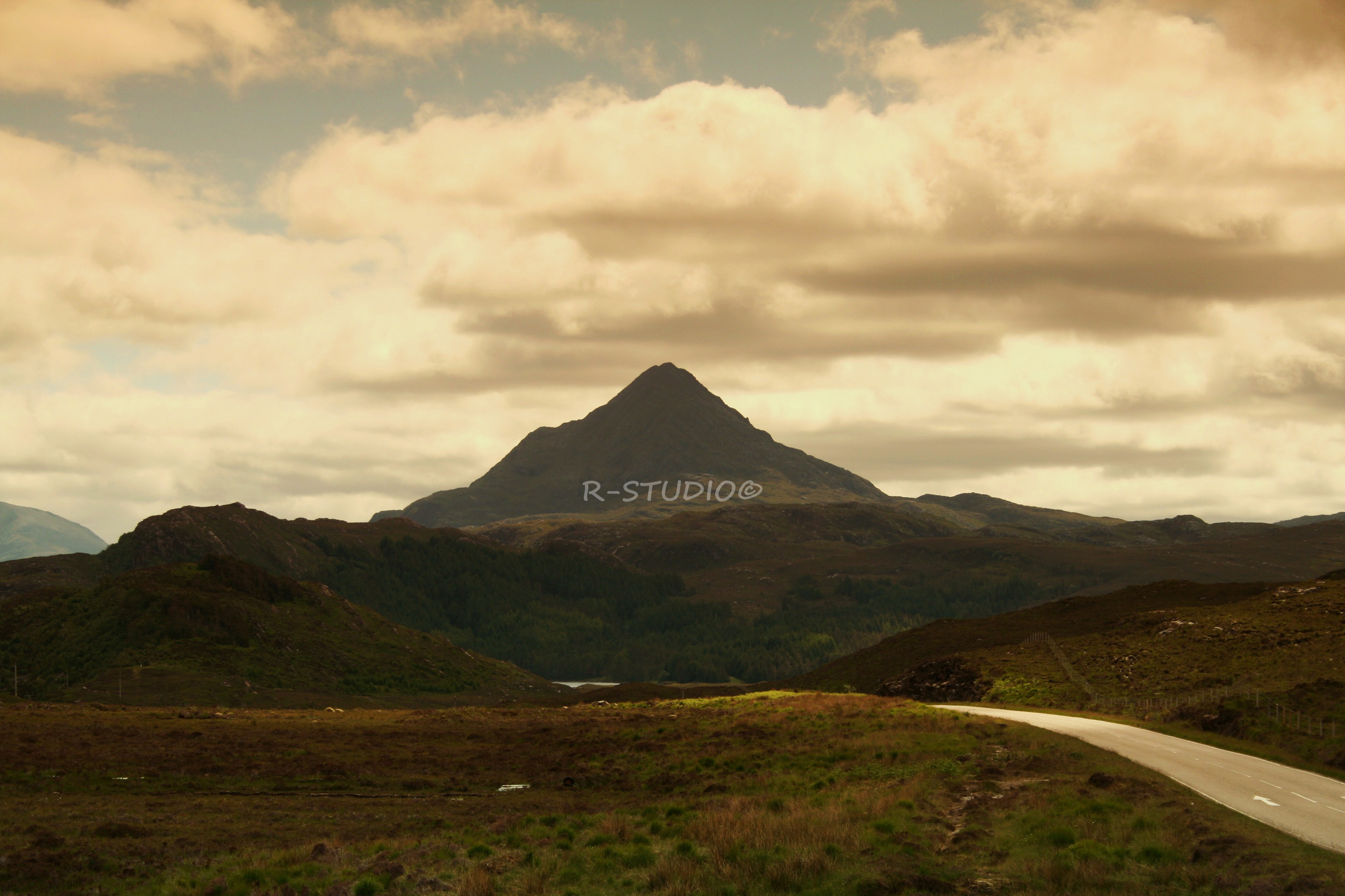 Scottish Highland Scenery  Raymond A Robinsons blog