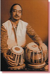 Ray Spiegel with Tabla for raka mukherjee